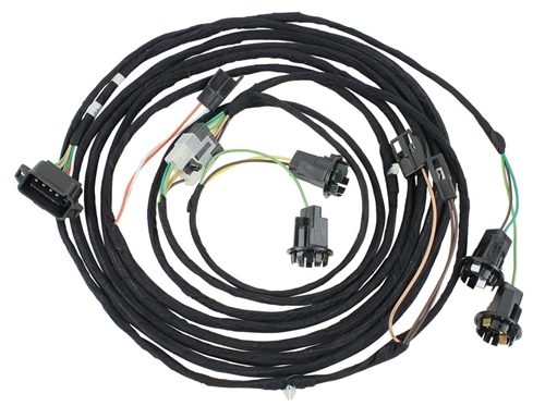 1966 Chevelle Rear Body Tail Light Wiring Harness