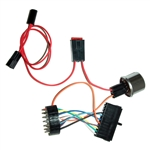 1964 - 1966 Chevelle Steering Column Adapter Wiring Harness, For 1969 - 1974 GM Column To Stock Dash Wire