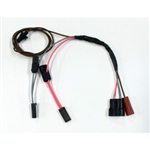 1967 Chevelle Dash Mounted Blinker Tachometer Harness
