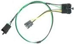 1970 - 1976 Nova Radio Power Extension Wiring Harness, With Single Front Dash Speaker