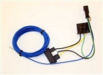 1965 - 1968 Chevelle Radio Wiring Harness, Rear Deck Single Speaker