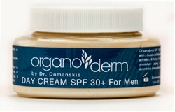 Organoderm MEN's Day Cream with Sun Protector-4oz.