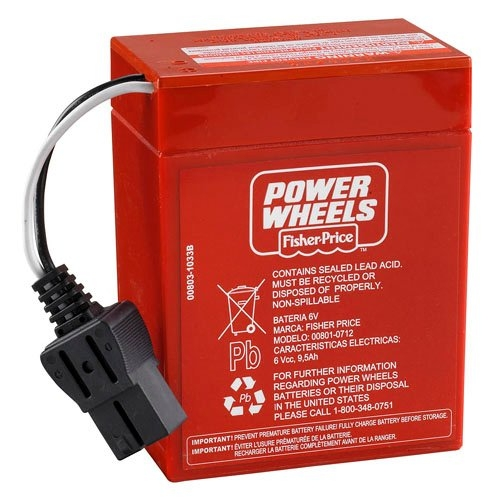 how long to charge power wheels 6 volt battery