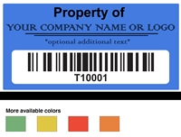 White ID Labels, White ID Stickers, White ID Tags