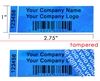 Custom Blue LabelogixUSA Label, Custom Blue LabelogixUSA Sticker, Custom Blue LabelogixUSA Seal,