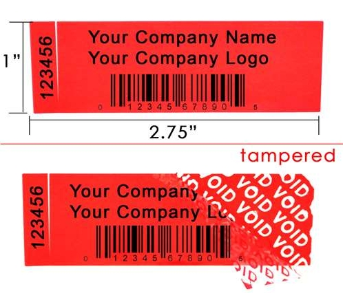 #tamperevidentlabels #rectangular #waterproof #labels #stickers #te3210  #stickythingsltd @stickythingsltd
