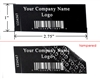 Non Residue Tamper Proof Black Labels, Non Residue Tamper Proof Black Seals, Non Residue Tamper Proof Black Stickes