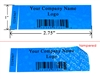Non Residue Tamper Proof Blue Labels, Non Residue Tamper Proof Blue Seals, Non Residue Tamper Proof Blue Stickes