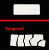 Destructible Security labels stickers, Destructible Security stickers seals, Destructible Security seals labels