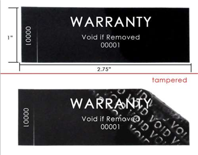Non Residue Black tamper evident Labels, Non Residue Black tamper evident Stickers, Non Residue Black tamper evident Tags, Non Residue Black tamper evident Seals