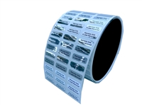 battery label, Battery sticker, Battery seal, Battery tag