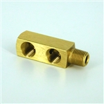 "Twin vent adapter 1/8""NPT"