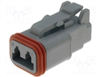 2 PIN CONNECTOR PLUG AT DT06-2S COMPATIBLE