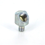 "Cube Connector  1/4-28 to 1/8"" NPT Female,"