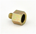 Straight adapter 1/4 - 28 (M) UNF X 1/8 (F) BSPP (Pack of 10)