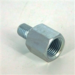 "Straight Connector 1/4 - 28 (M) UNF X 1/8""NPT(F)"