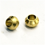 5mm brass compression olive ferrule 20020, 10801,108.01, F000585,