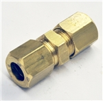 Union Compression 8mm brass - pack of 5