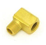 Elbow 1/4-18 (M) NPT X 1/4-18 (F) NPT - Brass