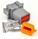 kit 8 Pin Receptacle Amphenol