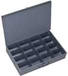 Compartment box steel 16 spaces