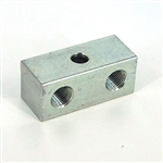 Union anchor block  2x 1/8NPT - 1x1/4-20 mount