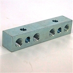 Union anchor block 4x 1/8NPT - 2x1/4-20 crpss mount