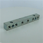 Union anchor block  6x 1/8NPT - 2x1/4-20 mount