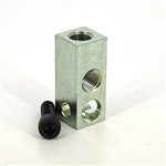 Union anchor block  1/8NPT - 1x1/4-20 mount 1-hole