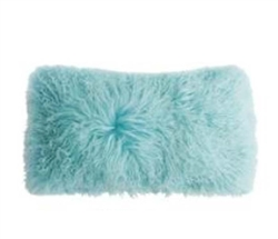 Modern Light- Blue Soft Pillow