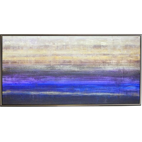 Karma Art  Modern Art  with Silver Floating Frame available