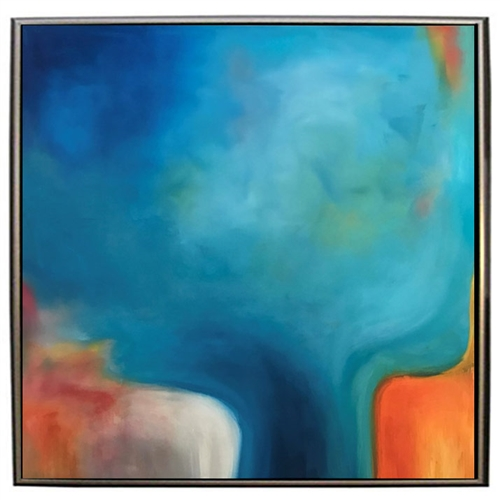 "Color Reverie II Modern Art -  43""Wx 43""H"