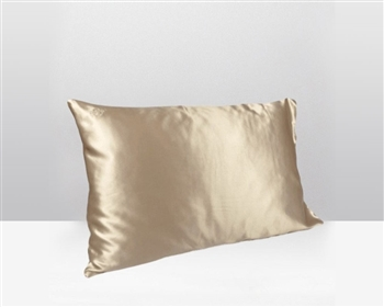 Silk Pillow Case Champagne - available at MH2G Stores