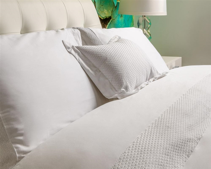 Amalfi Modern Bed Collection in White available at MH2G Stores