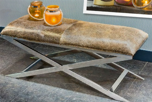 Grena Cowhide Bench