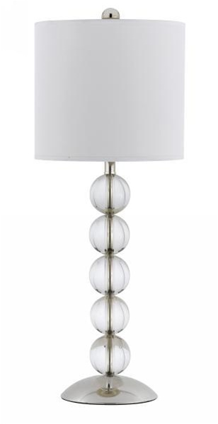 Stacked Crystal Ball Table Lamp  Discontinued