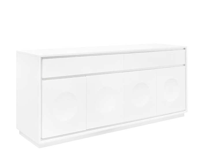 Toscana Modern Buffet in White Outlet