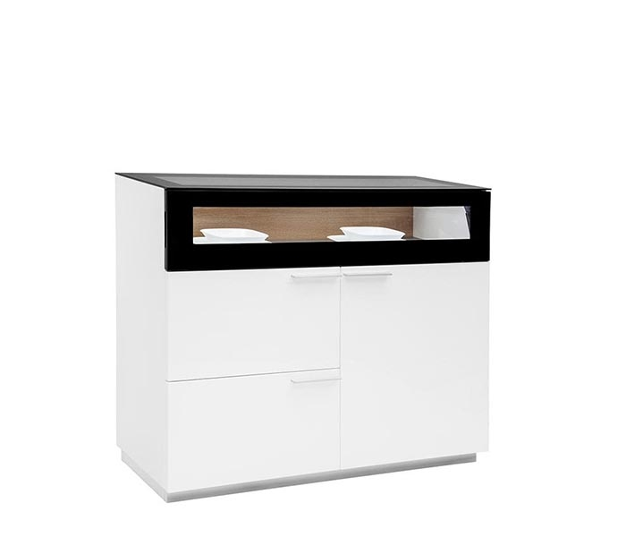 Citra Buffet in White Lacquer