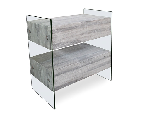 Allure Modern Buffet Grey