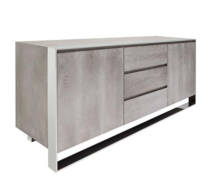 Turni Modern Buffet in Grey Oak