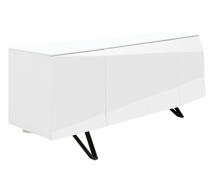Biella Modern Buffet in White