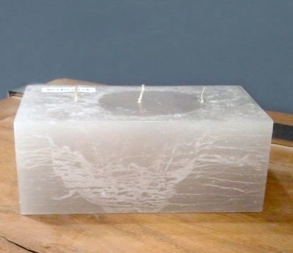 Rustique Brick Modern Candle