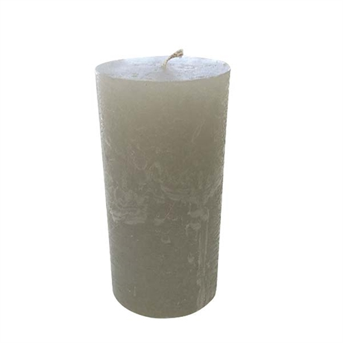 Rustique Pillar Modern Candle 3x6 - Platinum - SOLD OUT