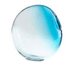 Lima vase Blue Glass Modern Accessory - Small