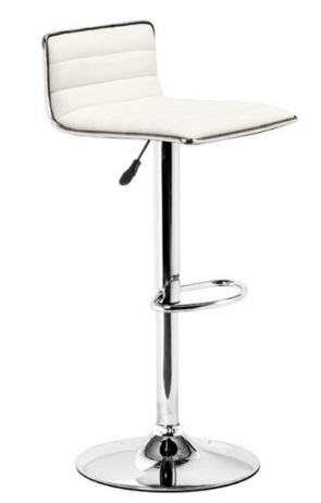Equation Modern Barstool in White