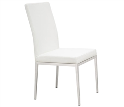 Rivola Modern Dining Chair in White
