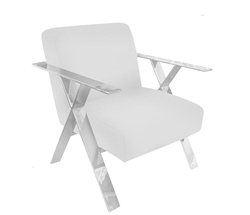 Allure Modern Chair in White