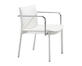 Gekko Modern Conference Chair White