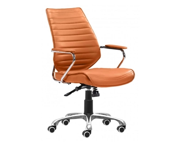 Enterprise Low Back Office Chair Terracotta