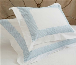 Quadrille Duvet Queen Celeste Trim